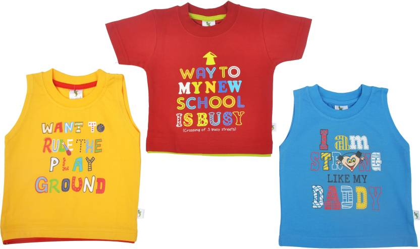 fef3845f Cucumber Boys Printed T Shirt Price in India - Buy Cucumber Boys ...