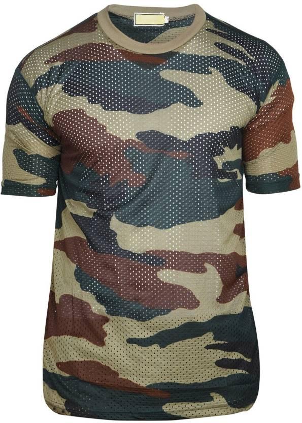 df81186c7 ZACHARIAS Military Camouflage Men Round Neck Multicolor T-Shirt - Buy  ZACHARIAS Military Camouflage Men Round Neck Multicolor T-Shirt Online at  Best Prices ...