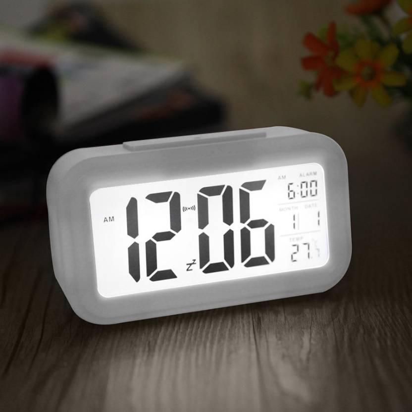 ffb45d58892 Dizionario Digital White Clock Price in India - Buy Dizionario Digital  White Clock online at Flipkart.com
