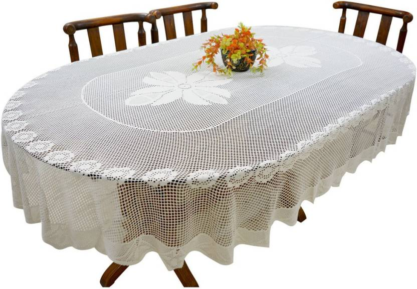 Fancymart Floral 6 Seater Table Cover