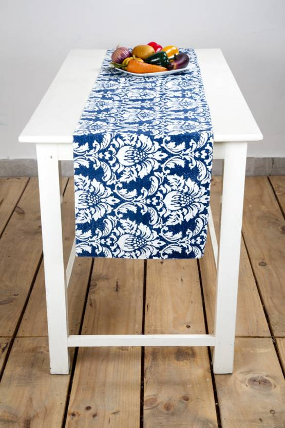 Ocean Collection Dark Blue White 18288 Cm Table Runner Buy Ocean