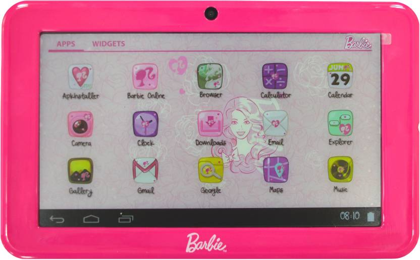 Its Our Studio Barbie Dollicious Tablet 4 GB 7 inch with Wi-Fi Only