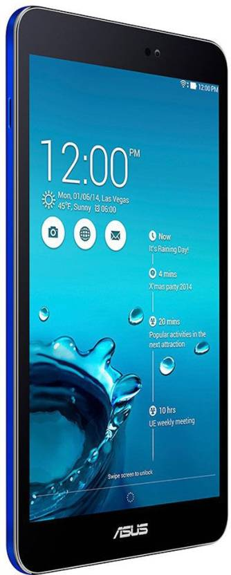 Asus MeMO Pad 8 16 GB 8 inch with Wi-Fi+4G Tablet (Blue)