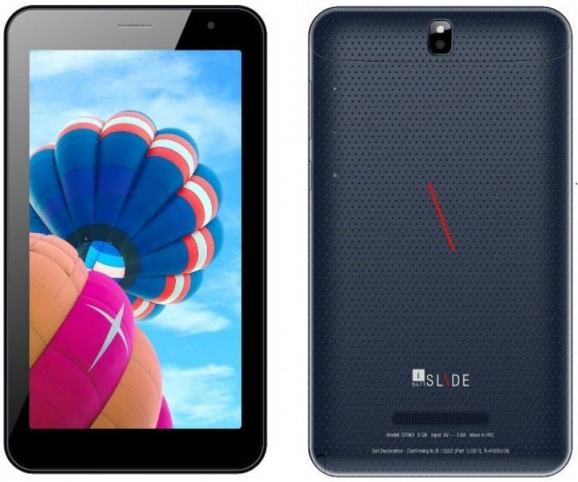 Iball Slide D7061 8 GB 7 inch with Wi-Fi+3G