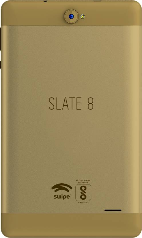 Swipe Slate (2 GB RAM) 32 GB 8 inch with Wi-Fi+3G Tablet (Gold)