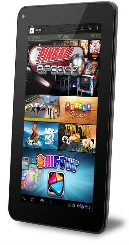UniPad 8 GB 7 inch with Wi-Fi+3G Tablet (Black) Price in India - Buy