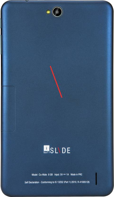 iBall Slide Co-Mate 8 GB 8 inch with Wi-Fi+3G Tablet (Metallic Blue)