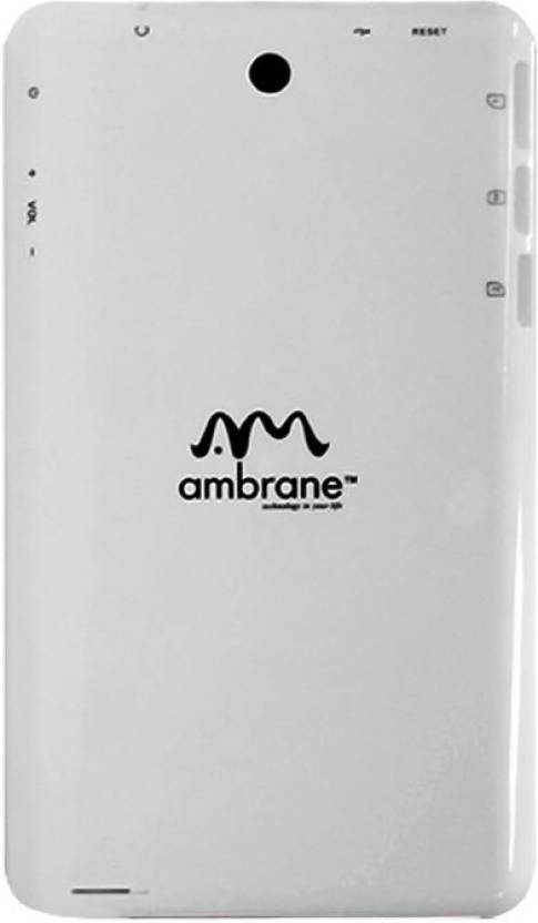 Ambrane A3-7 Plus 4 GB 7 inch with Wi-Fi+3G  (White) By Flipkart @ Rs.3,299
