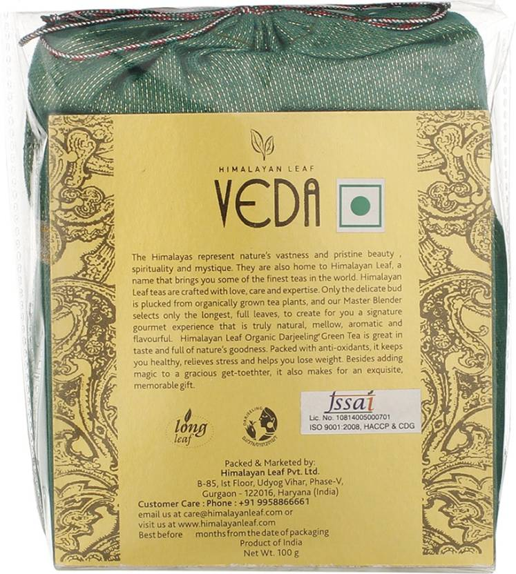 VEDA Darjeeling Organic Green Tea