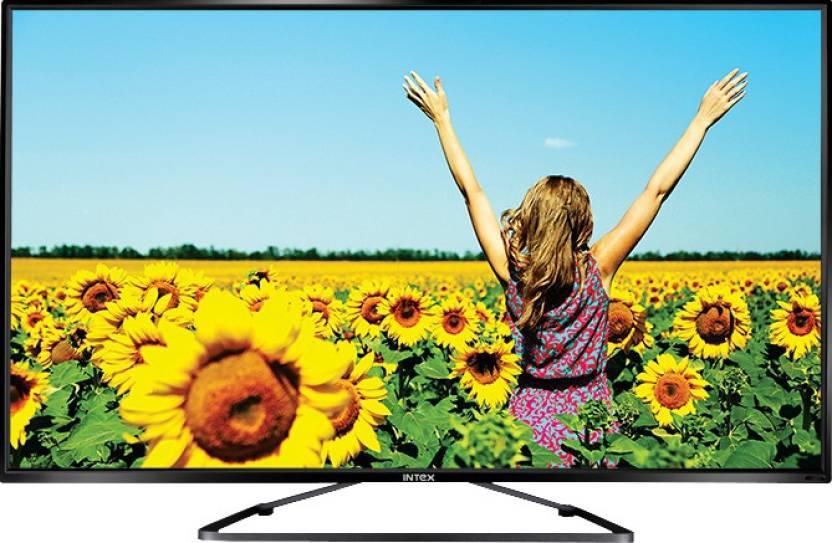 Intex 124cm (49) Full HD LED TV (2 X HDMI, 2 X USB)