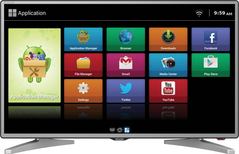 Mitashi 80.01cm (31.5) HD Ready Smart LED TV