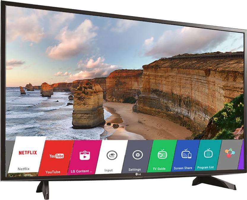 Best Of Sale 2016!! Save Big On The Hottest Products Of The Year By Flipkart | LG 108cm (43) Full HD Smart LED TV  (43LH576T, 2 x HDMI, 1 x USB) @ Rs.36,740