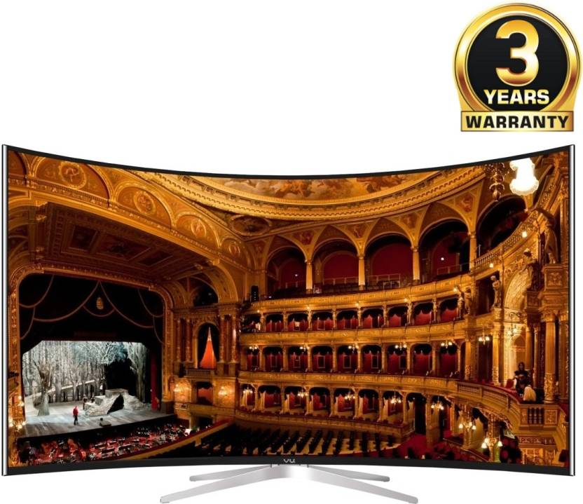 Vu 139cm (55) Ultra HD (4K) Smart, Curved LED TV