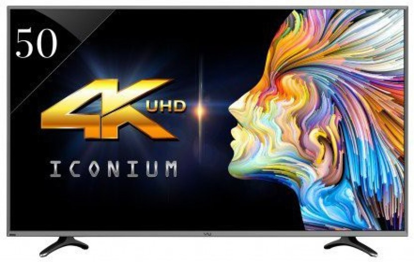 Vu 127cm (50 inch) Ultra HD (4K) LED Smart TV (LEDN50K310X3D) Online at best Prices