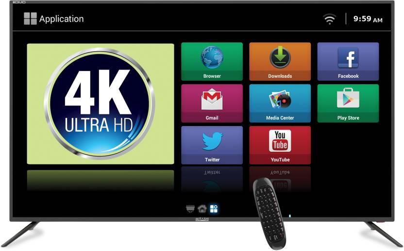 4e8ddaf8a5bb7 Mitashi 164cm (65 inch) Ultra HD (4K) LED Smart TV Online at best ...