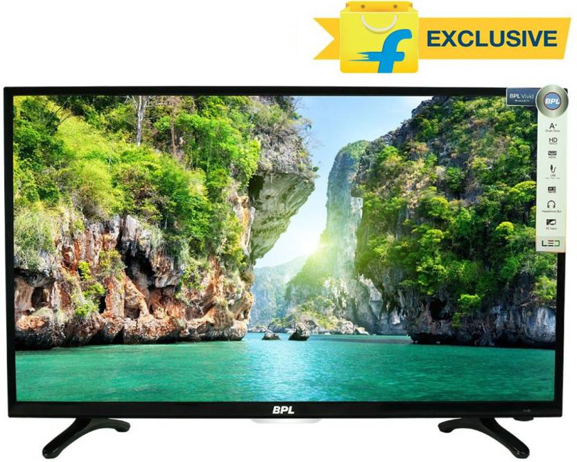 BPL Vivid 80cm (32) HD Ready LED TV At Just Rs.13490 + Upto Rs.6000 Off on Exchange By Flipkart