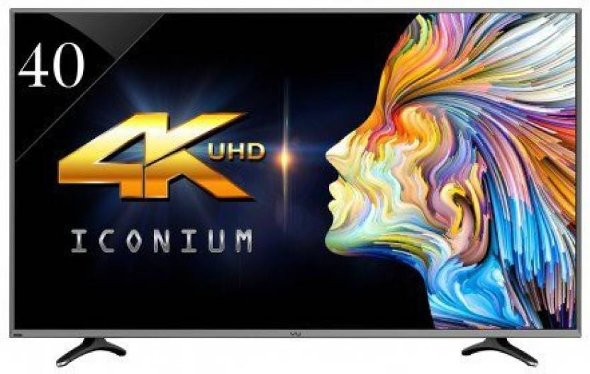 26a88c8102b Vu 102cm (40 inch) Ultra HD (4K) LED Smart TV Online at best Prices ...