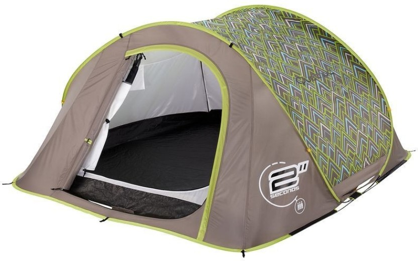 Quechua by Decathlon 2 Seconds Mountain Tent - For 3 Persons  sc 1 st  Flipkart & Quechua by Decathlon 2 Seconds Mountain Tent - For 3 Persons - Buy ...