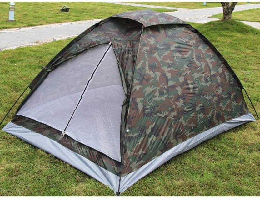 Alfa Mart camouflage tent 2 person Tent - For 1 room, 2 person
