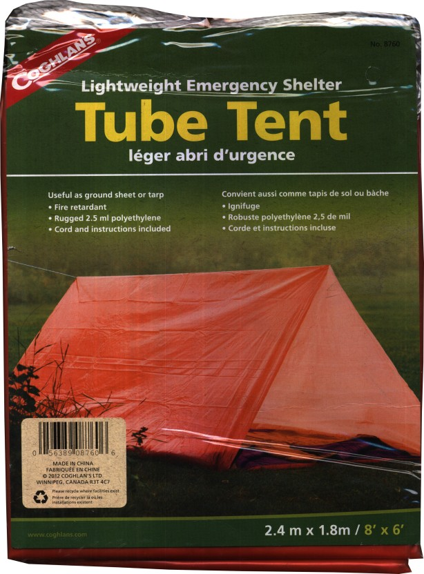 Coghlans Tube Tent - For 2 Persons & Coghlans Tube Tent - For 2 Persons - Buy Coghlans Tube Tent - For ...