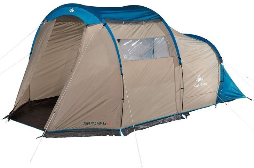 Quechua by Decathlon Arpenaz Family 41 Tent - For 4 Person  sc 1 st  Flipkart : decathlon quechua tent - memphite.com