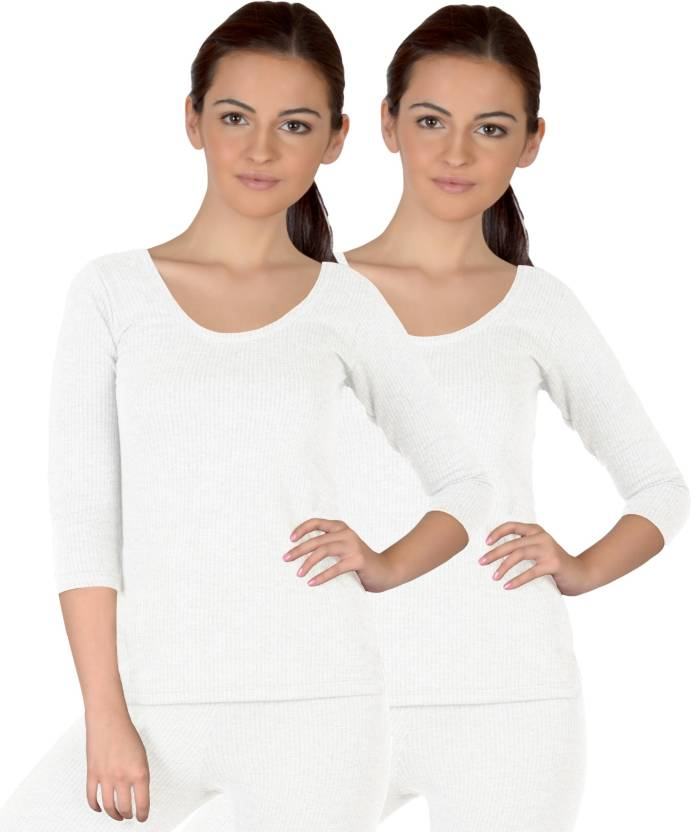 Selfcare Top For Girls (White)