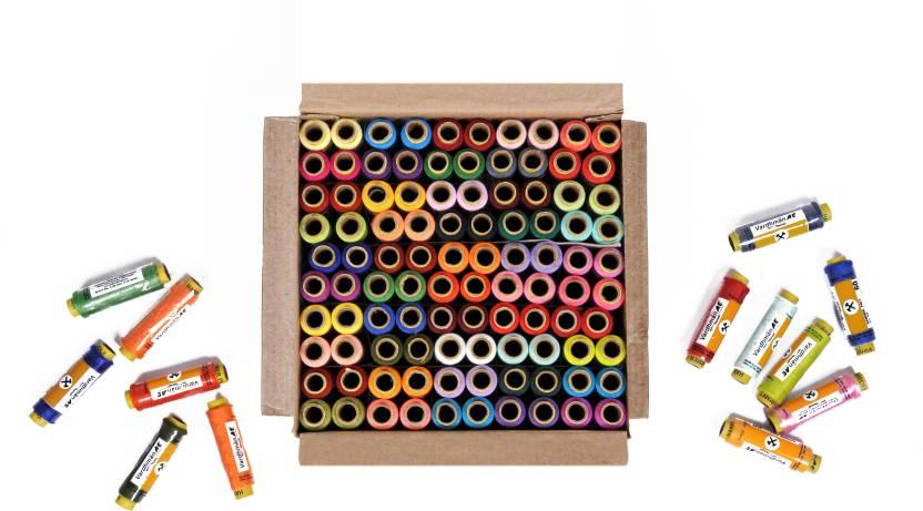 Vardhman Multcolor Thread Price In India Buy Vardhman Multcolor Custom Sewing Machine Threads Online India