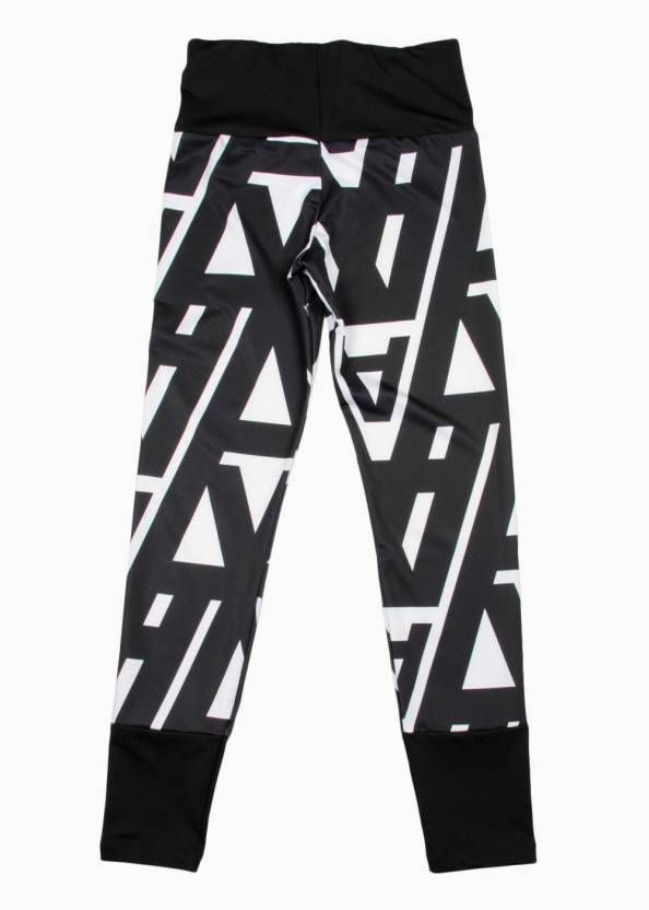 Blackwhite Girls White Printed Buy Adidas Tights Black 5UYxOOT