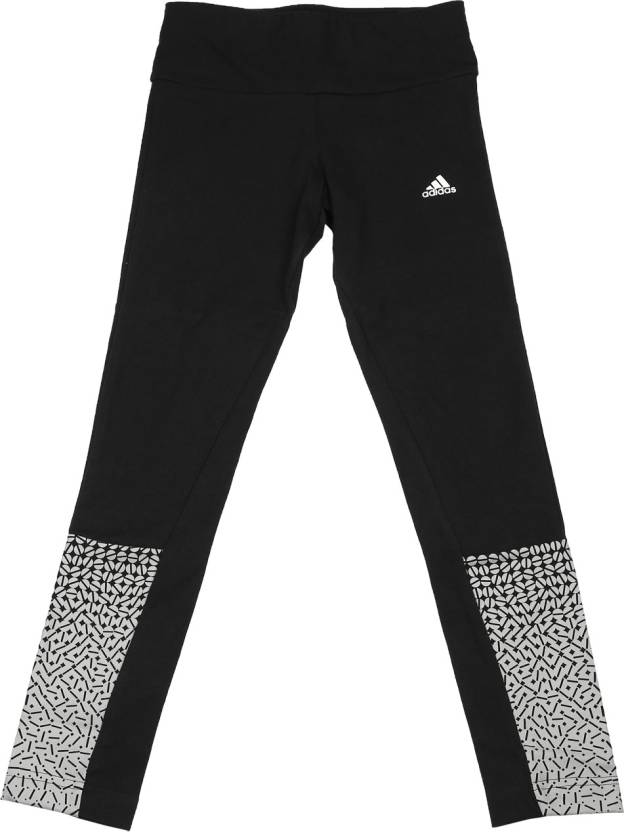 1c3dc79356c32 ADIDAS Printed Girl's White Tights - Buy MGREYH/BLACK/BLACK ADIDAS Printed  Girl's White Tights Online at Best Prices in India | Flipkart.com