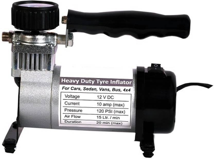 Emporis 100 psi Tyre Air Pump for Car & Bike