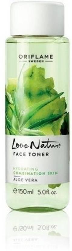 Oriflame Love Nature Face Toner Aloe Vera