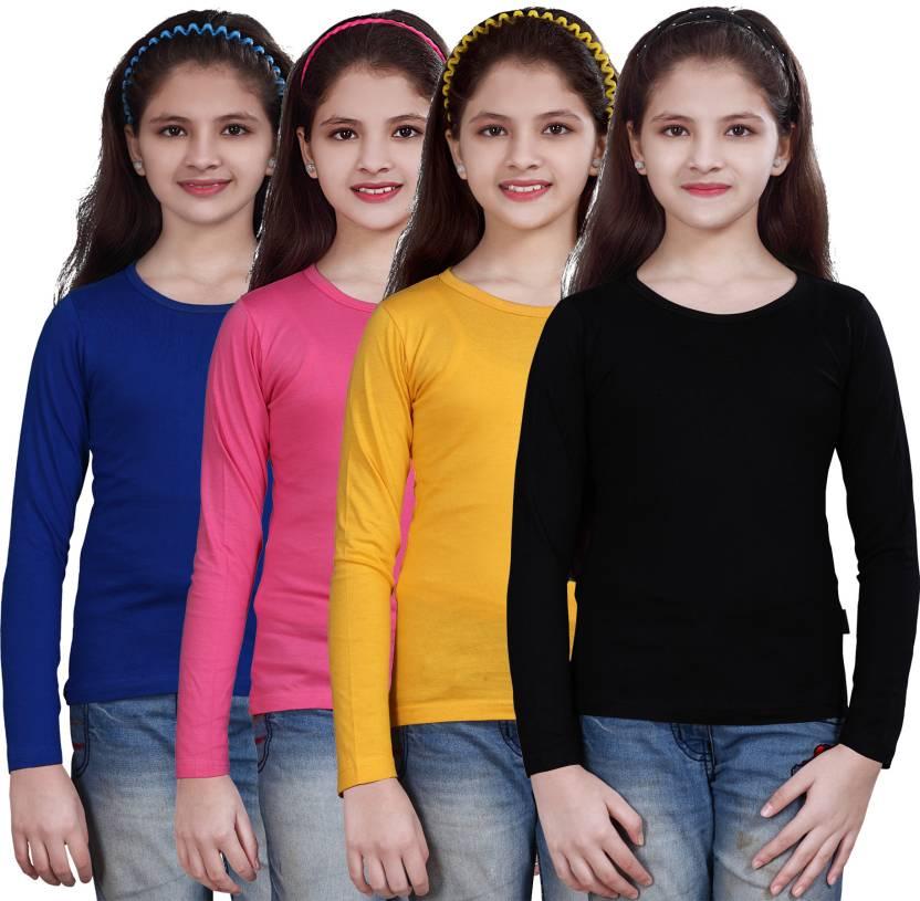 9b7c5a7b0 Sini Mini Girls Casual Cotton Top Price in India - Buy Sini Mini ...