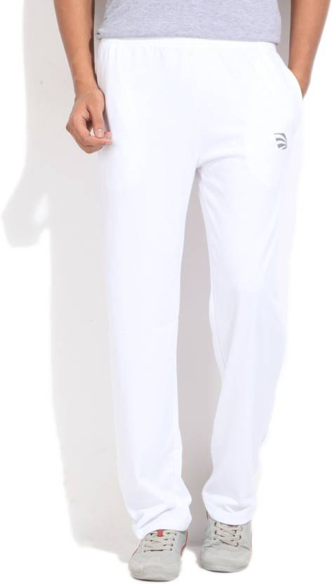 de3439588465 Edge Solid Men s White Track Pants - Buy WHITE Edge Solid Men s White Track  Pants Online at Best Prices in India