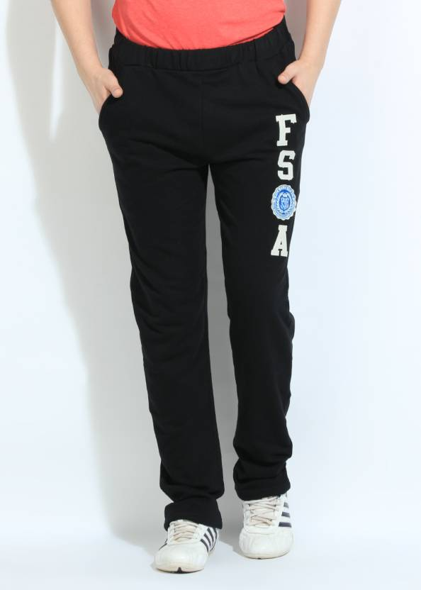 a150fa5d06c9 Fila Printed Men s Black Track Pants - Buy Black Fila Printed Men s Black  Track Pants Online at Best Prices in India