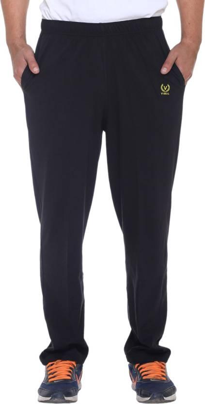 Vimal Solid Mens Dark Blue Track Pants
