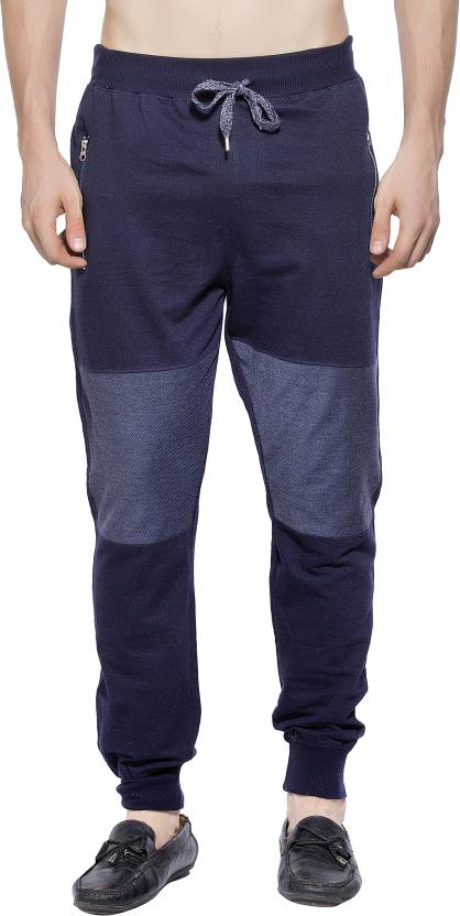 67880765f Maniac Colorblock Men Dark Blue Track Pants - Buy Navy Maniac Colorblock Men  Dark Blue Track Pants Online at Best Prices in India