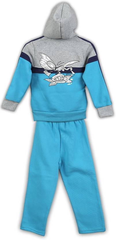 Lilliput Solid Girls Track Suit