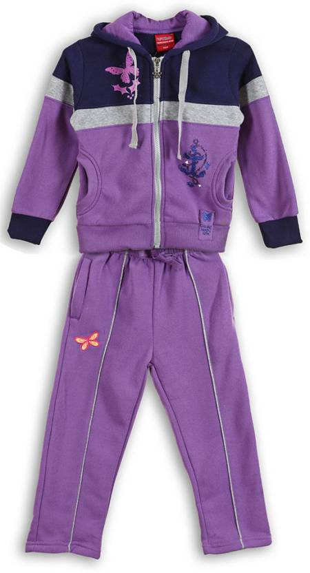 Lilliput Printed Girls Track Suit