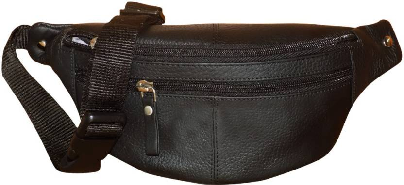 Style 98 Genuine Leather Travel Money Pouch For Men And Women Waist Bag