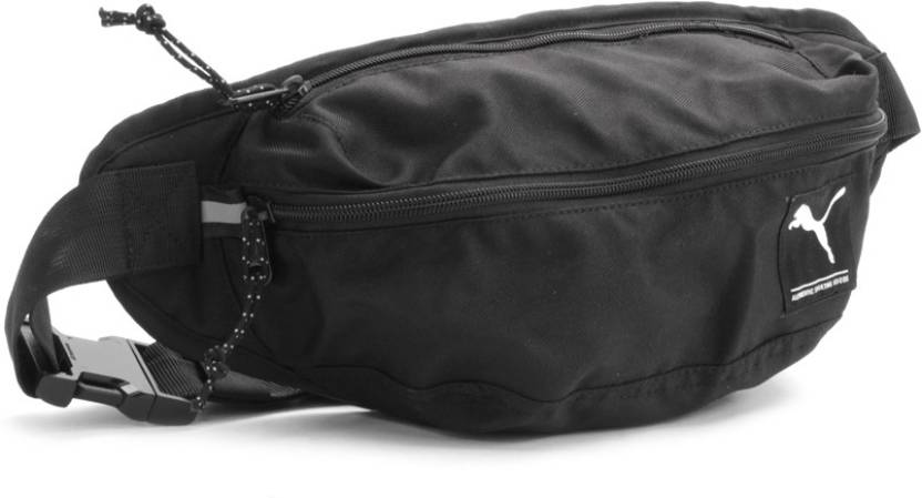 4b7105d5487a Puma Waist Bag Black - Price in India