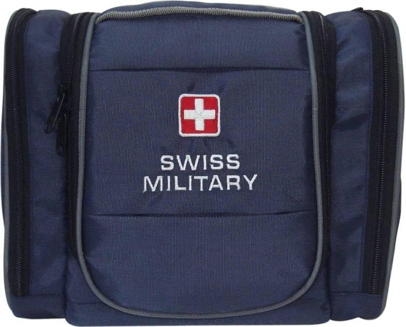 92112fbc1da4 Swiss Military Utility Toilet Bag Travel Toiletry Kit Blue - Price ...