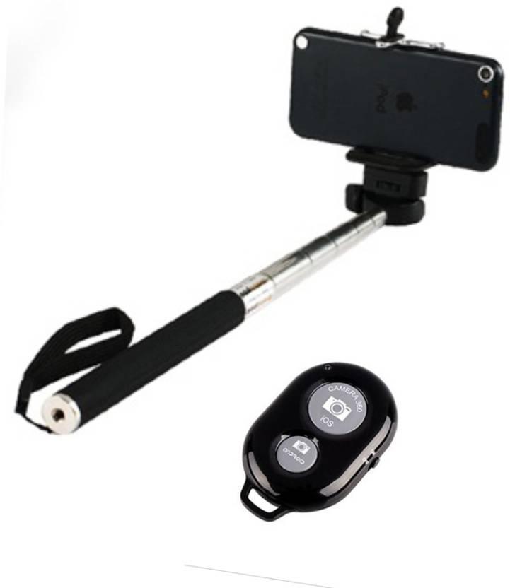 smiledrive selfie stick accessory combo for universal mobile phone apple iphone 5 5s 6 6plus. Black Bedroom Furniture Sets. Home Design Ideas