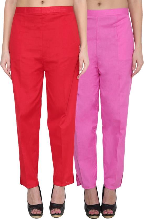 1fd2c835187 NumBrave Regular Fit Women s Red