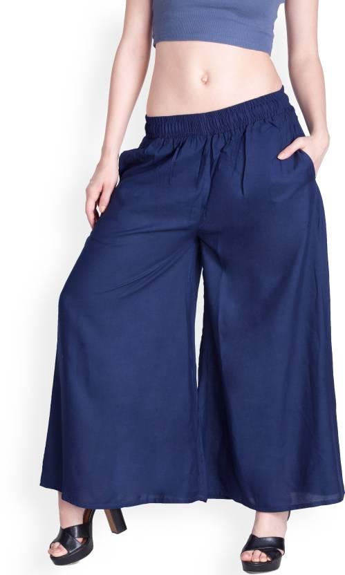 d636456dde0785 Lux Lyra Regular Fit Women's Dark Blue Trousers - Buy Lux Lyra Regular Fit  Women's Dark Blue Trousers Online at Best Prices in India | Flipkart.com