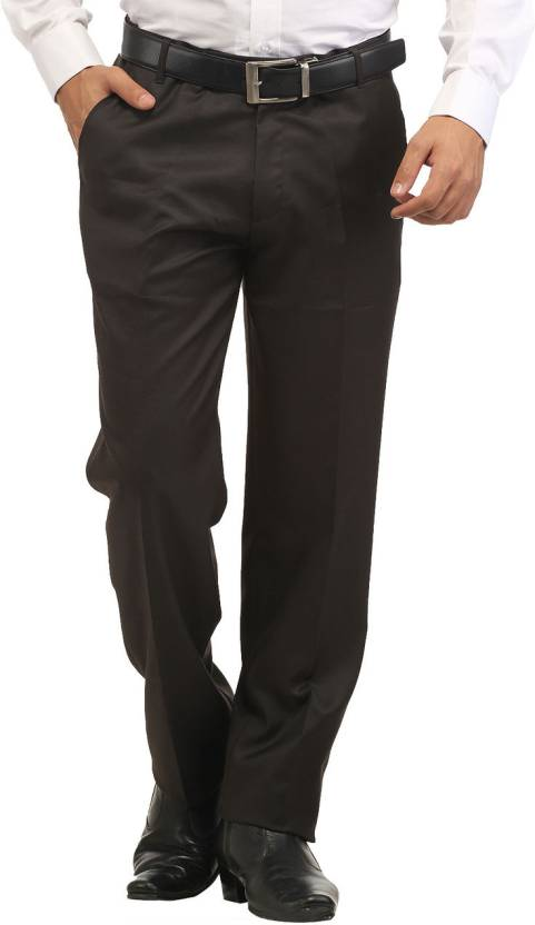 78a0c65f3f9 Inspire Slim Fit Men s Brown Trousers - Buy Brown Inspire Slim Fit ...