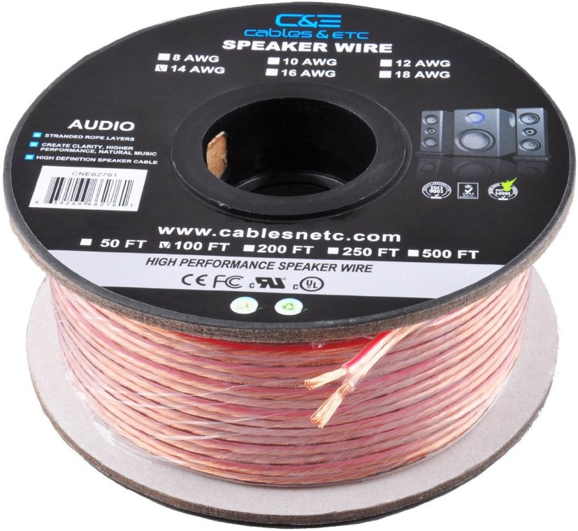 16 Gauge Speaker Wire 100 Feet FREE SHIPPING
