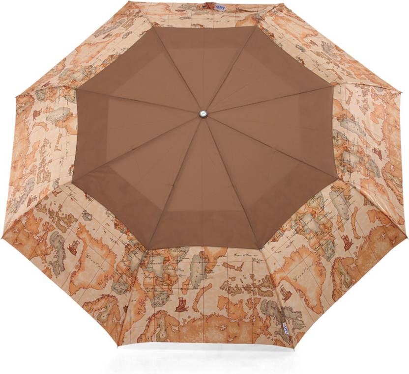The modern ape world map design windproof brown umbrella buy the the modern ape world map design windproof brown umbrella gumiabroncs Gallery