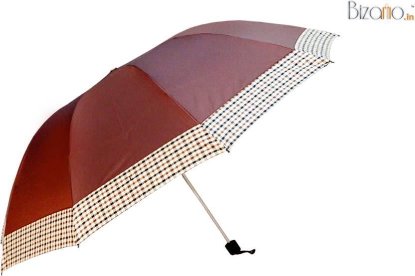 b8d42f79bfb4c Bizarro.in BIU-1149850-BD-BRN Umbrella - Buy Bizarro.in BIU-1149850 ...