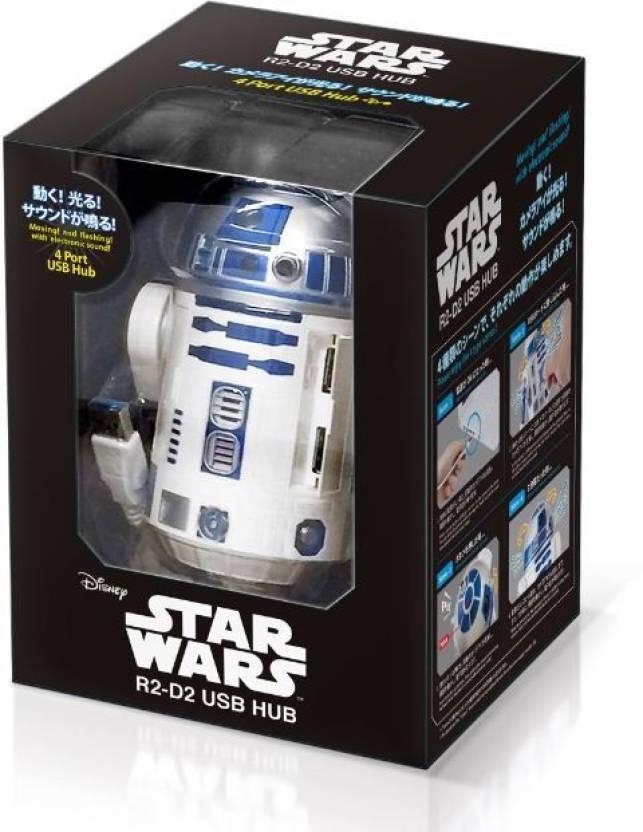 Star Wars R2 D2 830 Usb Hub Price In India Buy Star Wars R2 D2 830