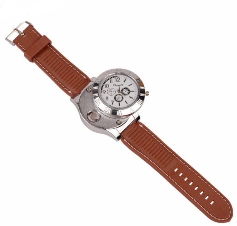 fa585f2ba847 Huayue Windproof wrist watch Cigarette Lighter, USB Charger